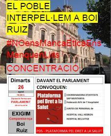 CARTELL 26 agost CONCENTRACIO